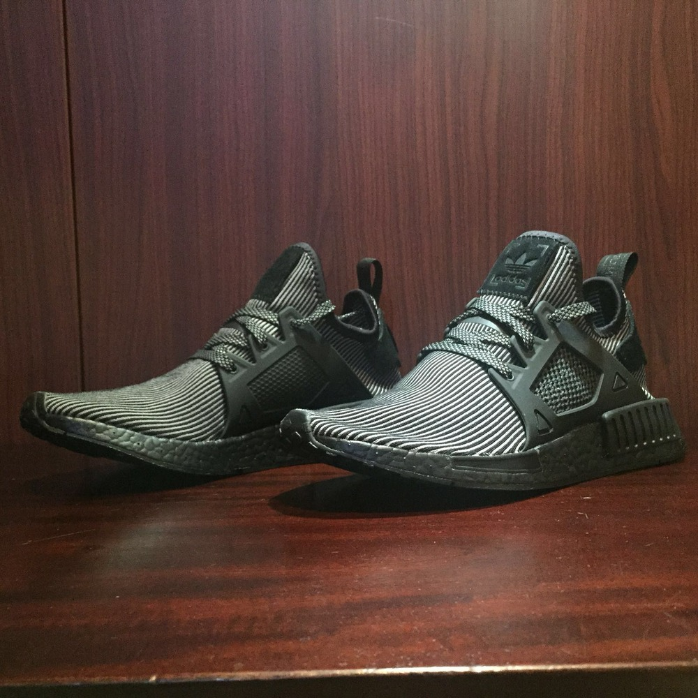 Men Black NMD XR1 Lifestyle Shoes adidas US