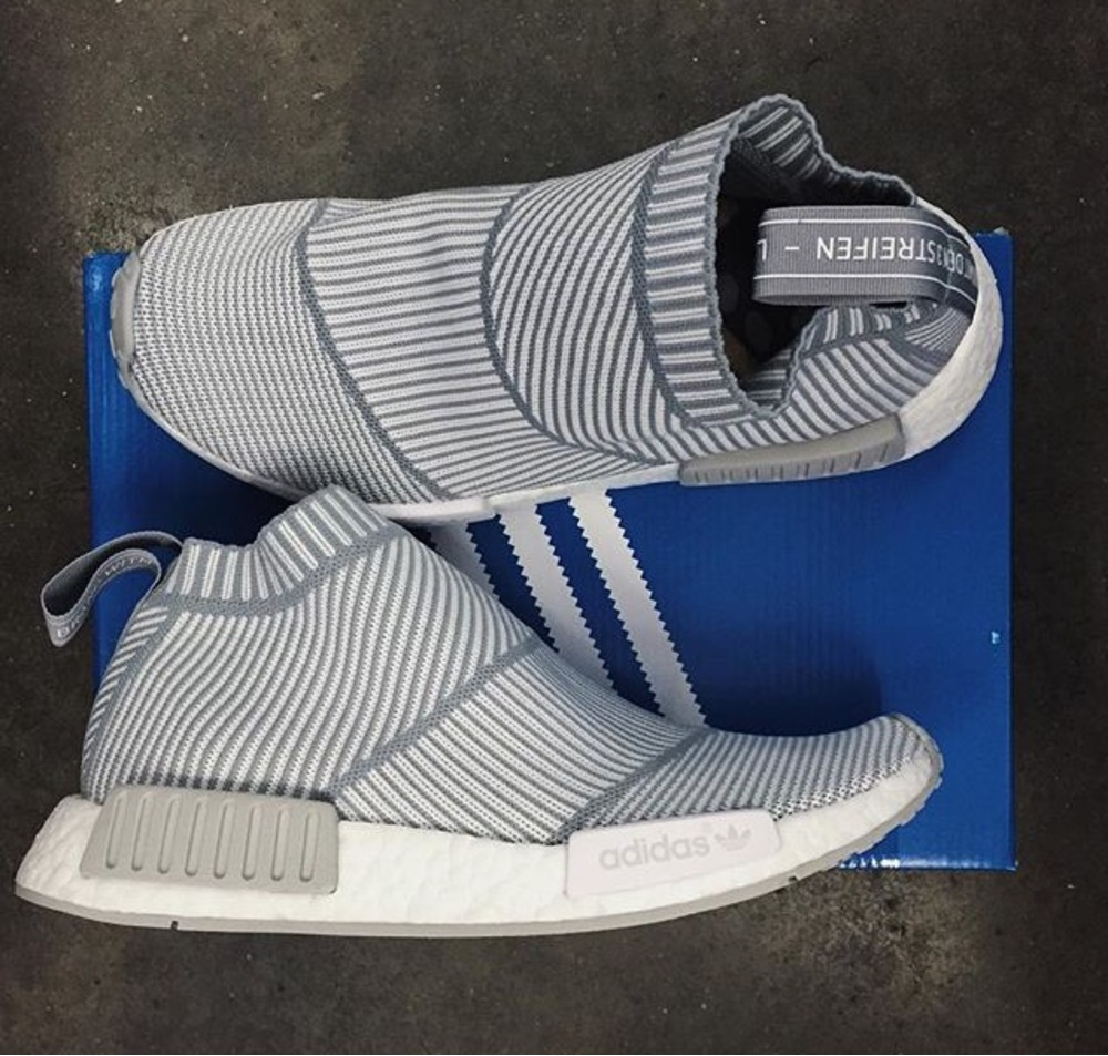 cde280d2142 Adidas NMD CS1 PK  City Sock  White Gum West NYC