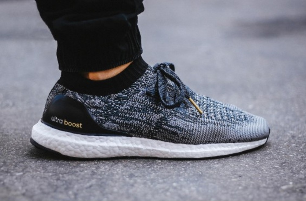 Adidas Women Running Ultra Boost X Shoes In Core BlackDark Grey