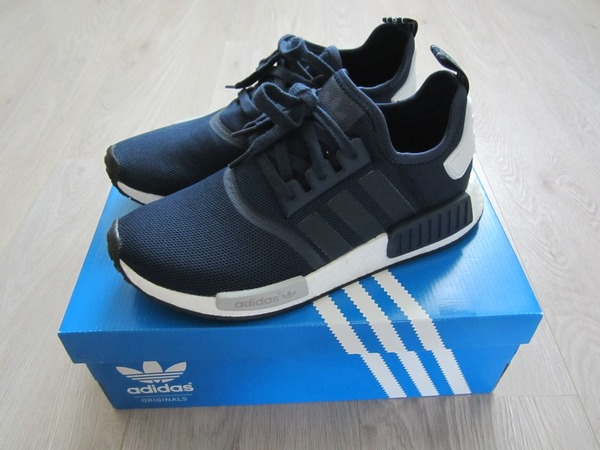 Adidas NMD Runner Navy SZ 9.5 US - photo 1/5