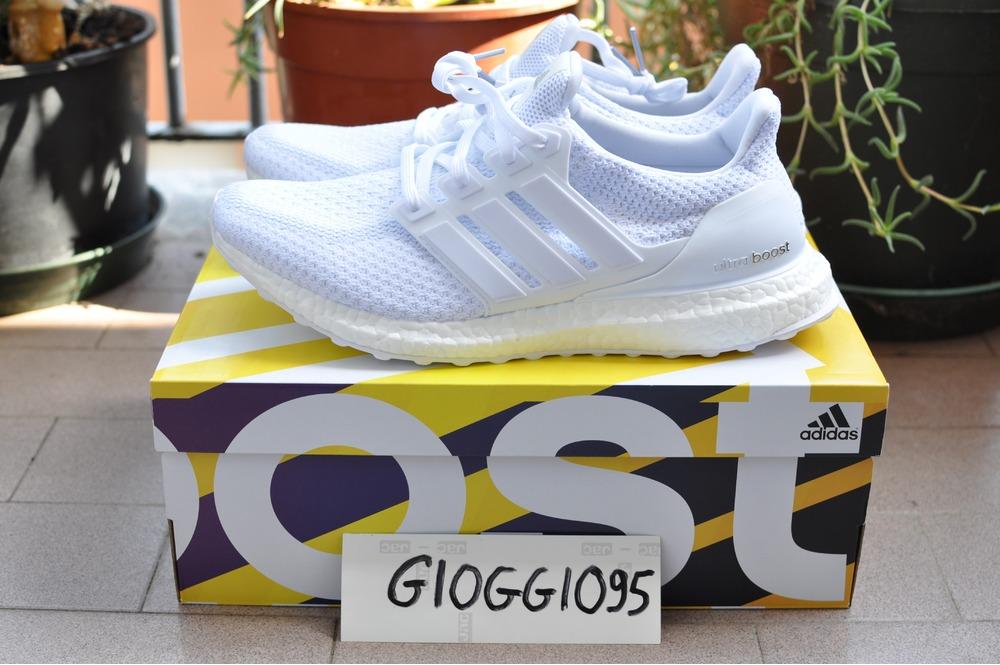 8be344fd9 ... closeout adidas ultra boost triple white 2.0 9 us 8.5 uk 42 2 3 eu yeezy
