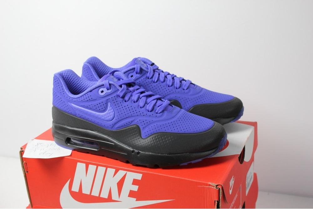 mens nike air max 1 purple black