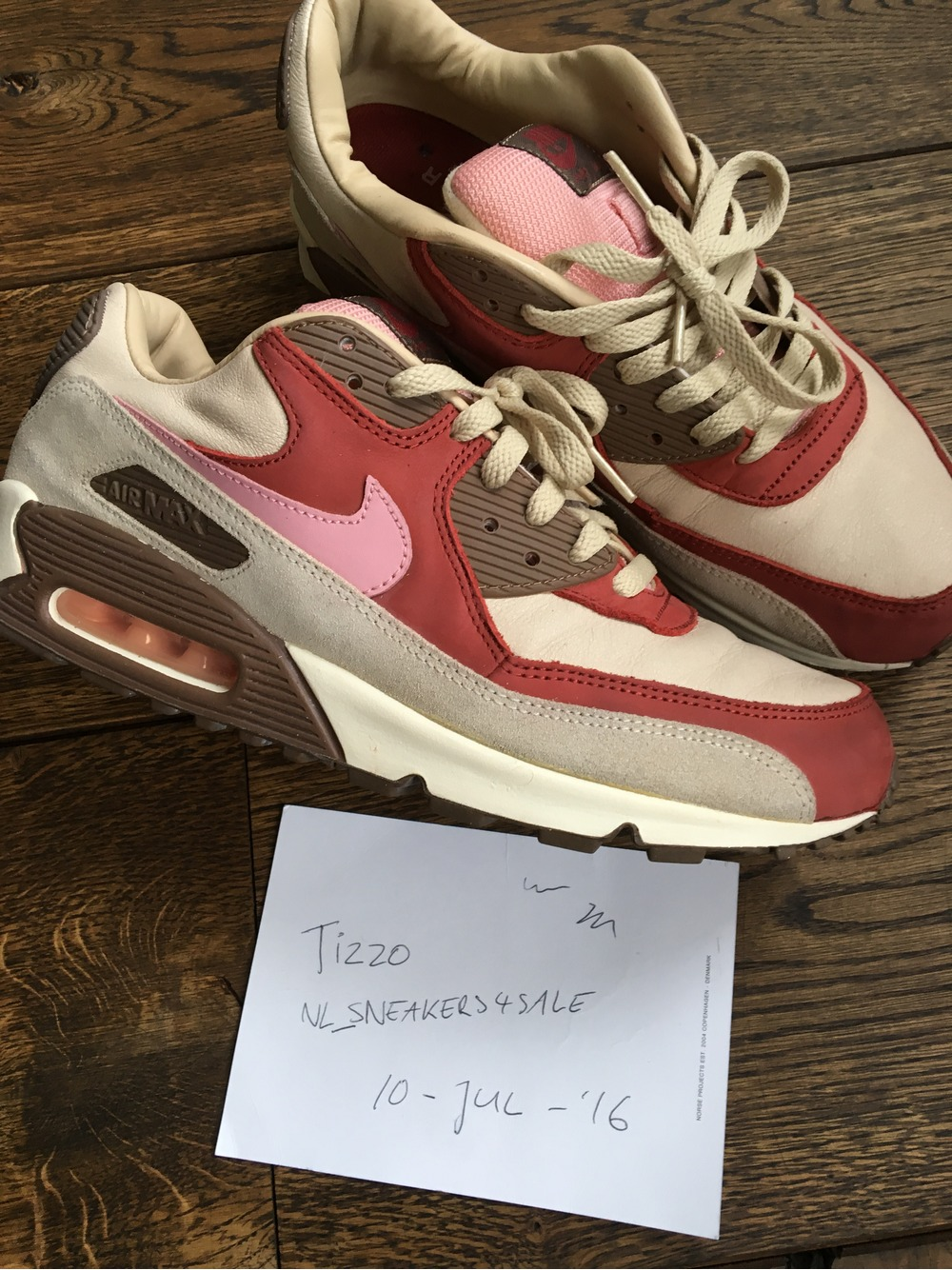 check out 8af9f 27182 ... Nike Air Max 90 DQM Bacon (517728) from tizzo at KLEKT ...