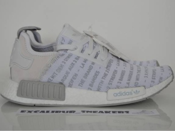 adidas NMD R1 Whiteout S76518 Primeknit Three Stripes - photo 1/6
