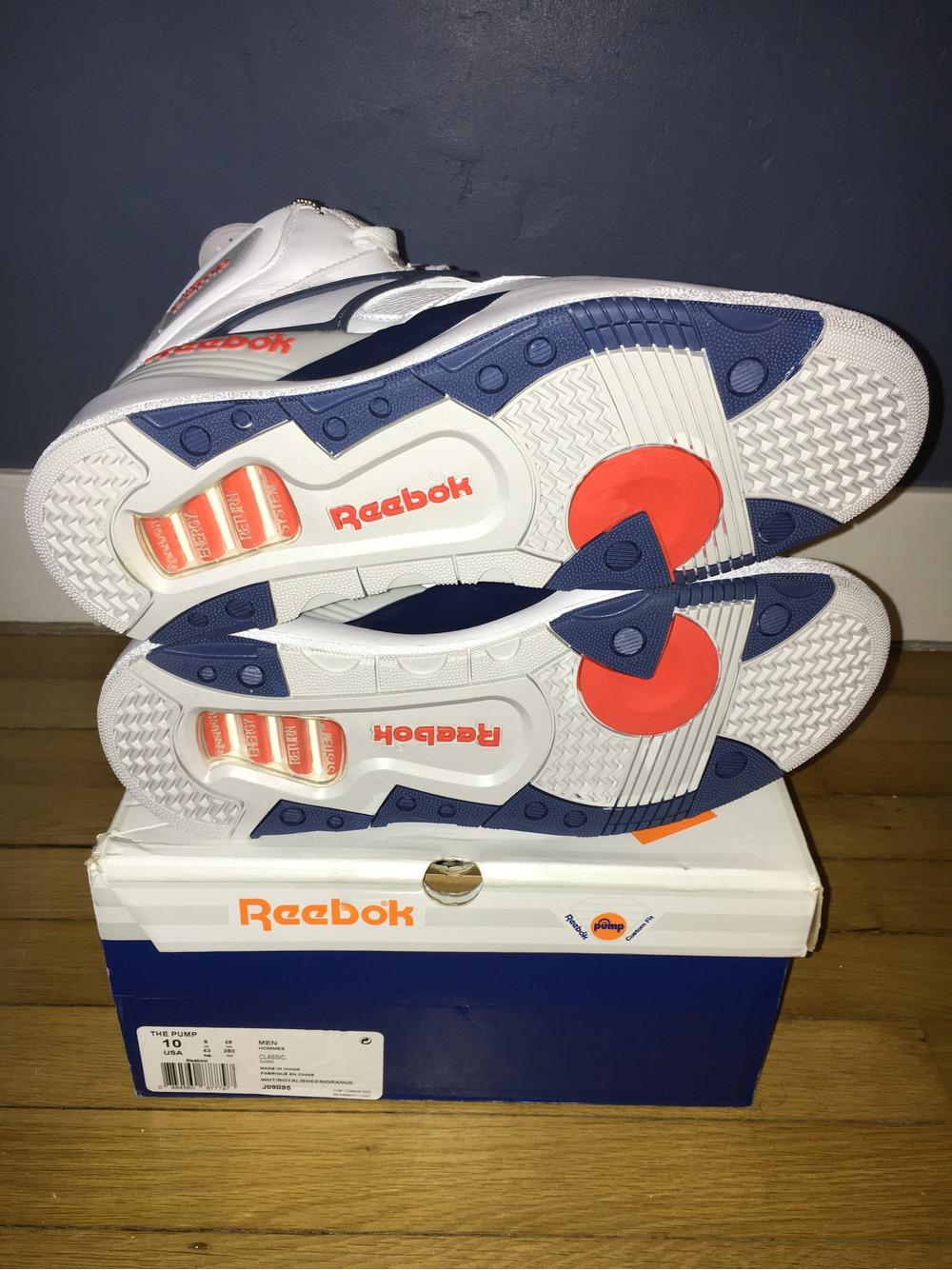 reebok pump size 9