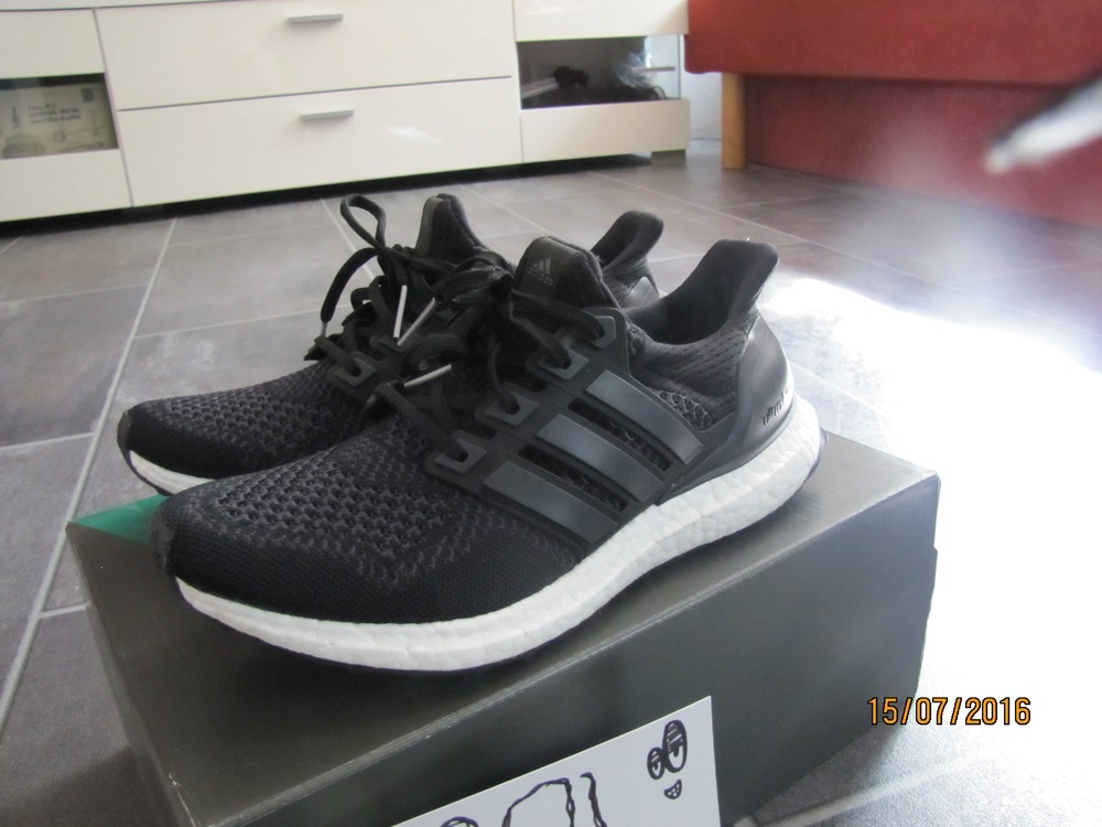 55fafca8b2830 Adidas Ultra Boost Core Black 1.0 Cheap Sale - Cheap Ultra 1.0