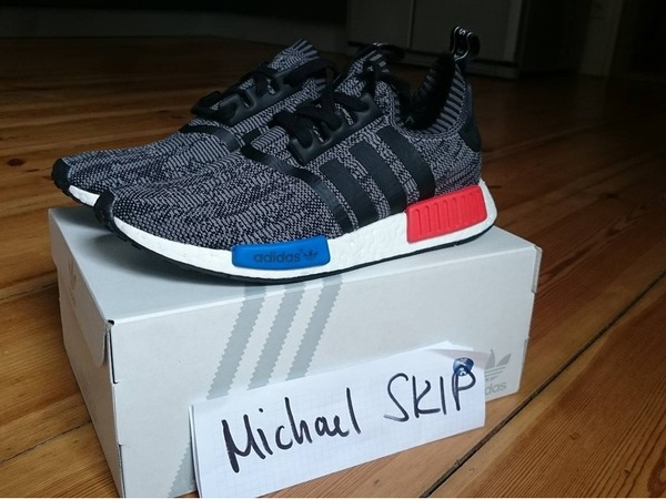 Adidas nmd Family and Friends sz. US9.5 - photo 1/3