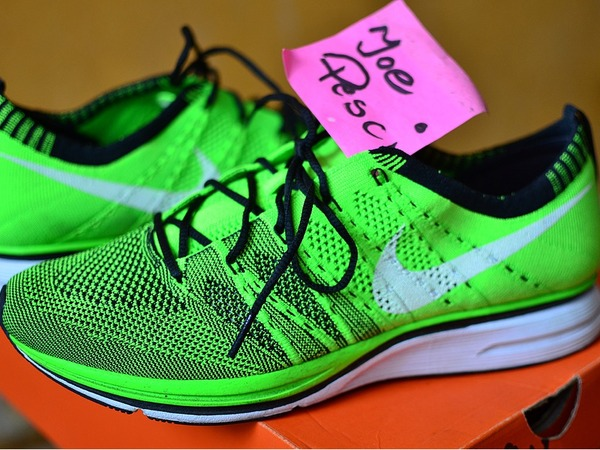 Nike Flyknit Trainer Electric Green VNDS - photo 1/1