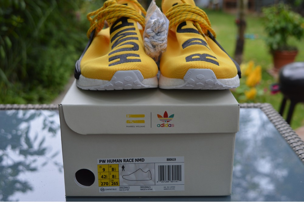 NMD HUMAN RACE Yellow Color Running Shoes 2016 New Fashion
