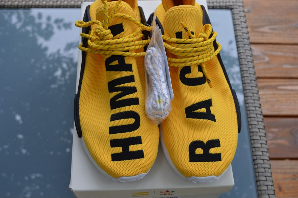 Cheap Adidas Pharrell Human Race Green PK NMD UK 8 Very rare