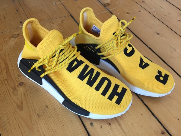 Black Pharrell Williams X NMD Runner Human Race Running Shoes