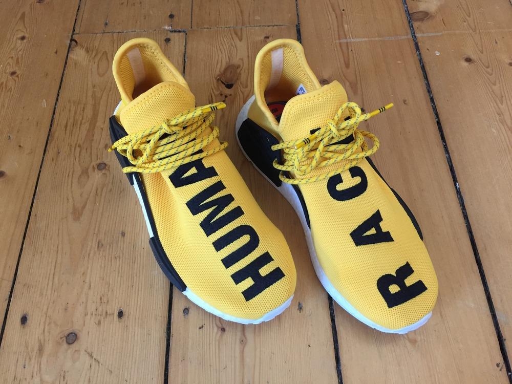 Adidas X Pharrell Nmd Human Race Yellow #Adidas #Pharrell #NMD