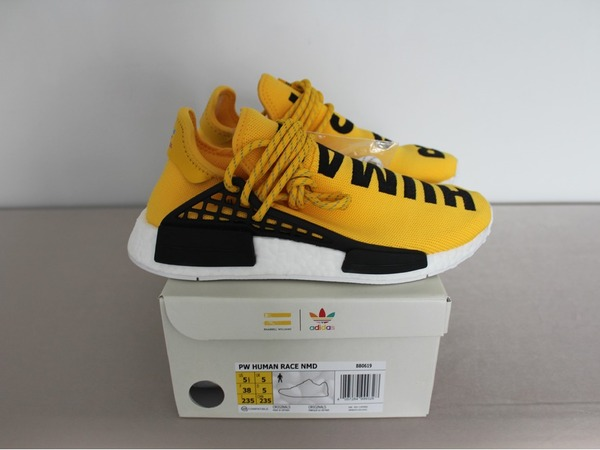 ADIDAS PHARRELL WILLIAMS NMD HUMAN RACE RED US 9,5