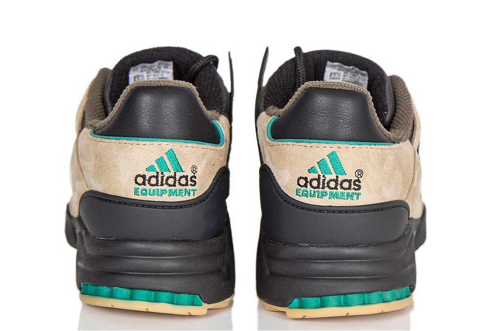 Adidas Equipment Running Support 93 Core Black/Sub Green/Hemp B24778