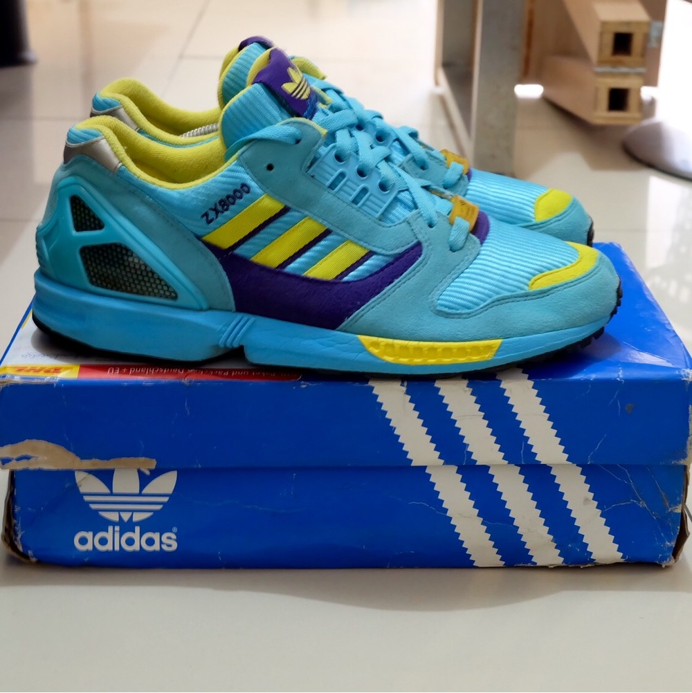 adidas originals zx 8000 aqua 2004 558441 from. Black Bedroom Furniture Sets. Home Design Ideas
