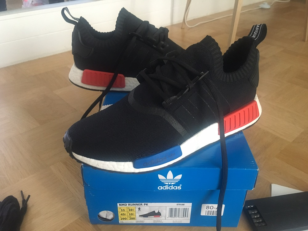 Adidas NMD RUNNER PK PRIMEKNIT OG NOMAD - photo 1/5