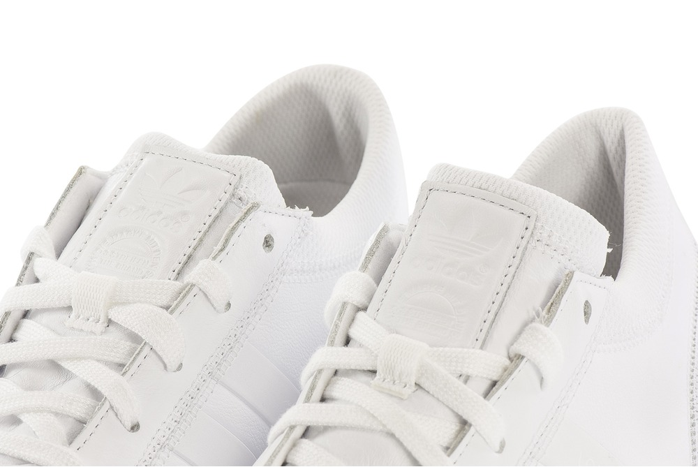 size 40 fca38 46203 Adidas Los Angeles White Leather