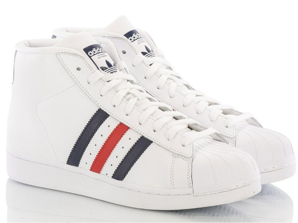 "ADIDAS PRO MODEL ""WHITE/COLLEGIATE NAVY/RED"" AQ5216 - photo 1/5"