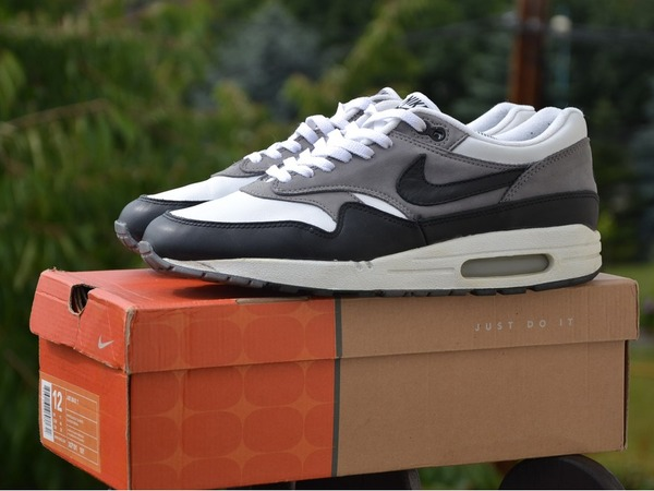 Nike Air Max 1 leather graphite - photo 1/4