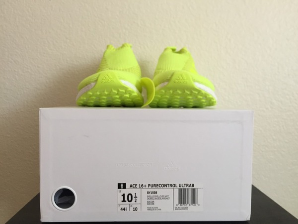 Adidas Ace 16+ Purecontrol Ultraboost Volt 10.5 nmd ultra boost cream BY1598 350 - photo 1/8