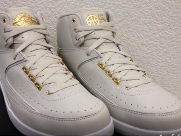Nike Air Jordan 2 Quai 54 US10 - photo 1/2
