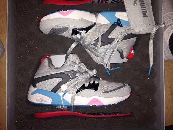 Puma Blaze of Glory Sneaker Freaker 'Great White' - photo 1/4
