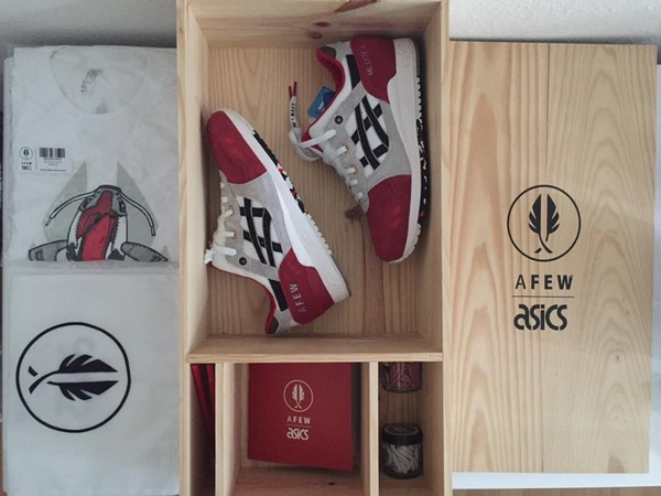 Asics Gel Lyte III X Afew 'Koi' - photo 1/2