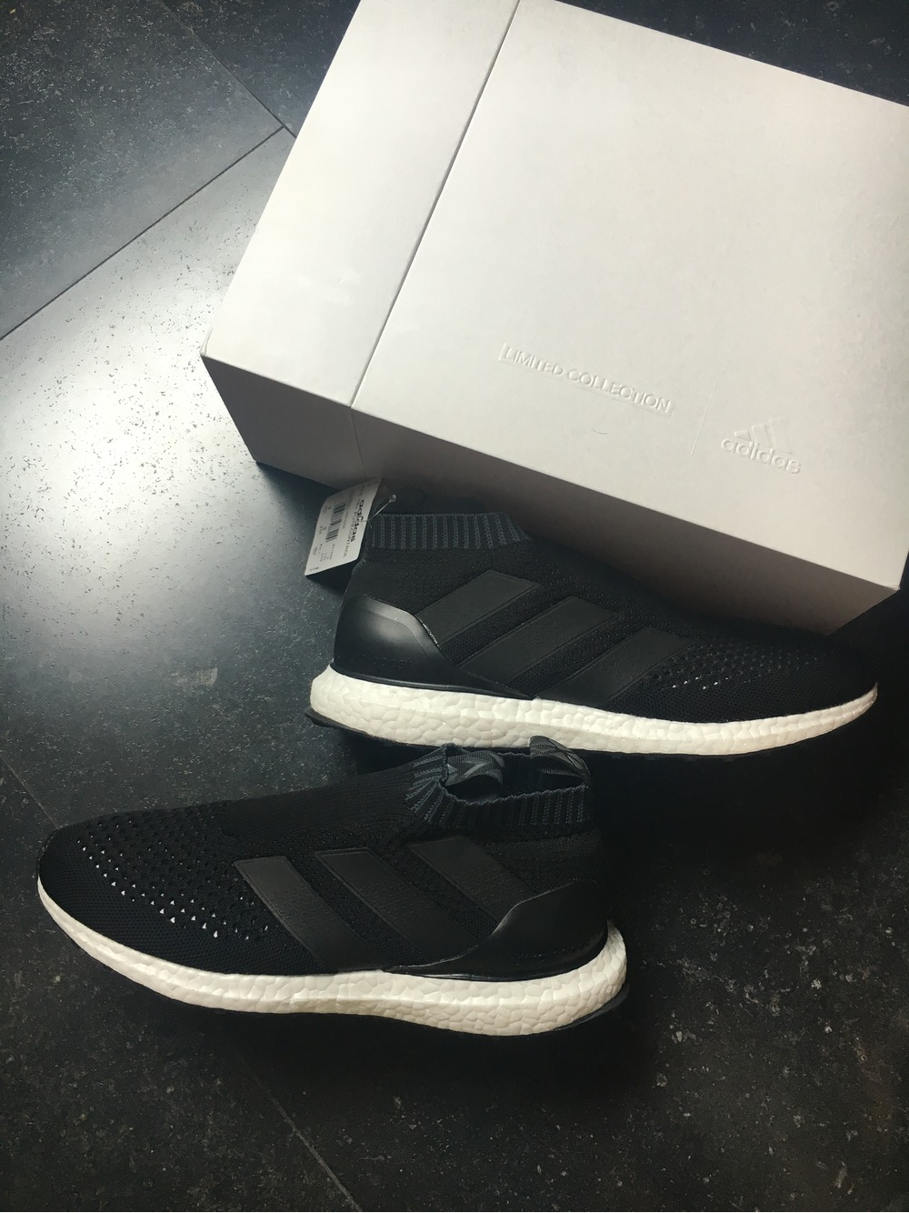adidas Ultraboost Ultra Boost 3.0 Triple Black Silver Grey Ba8923 9