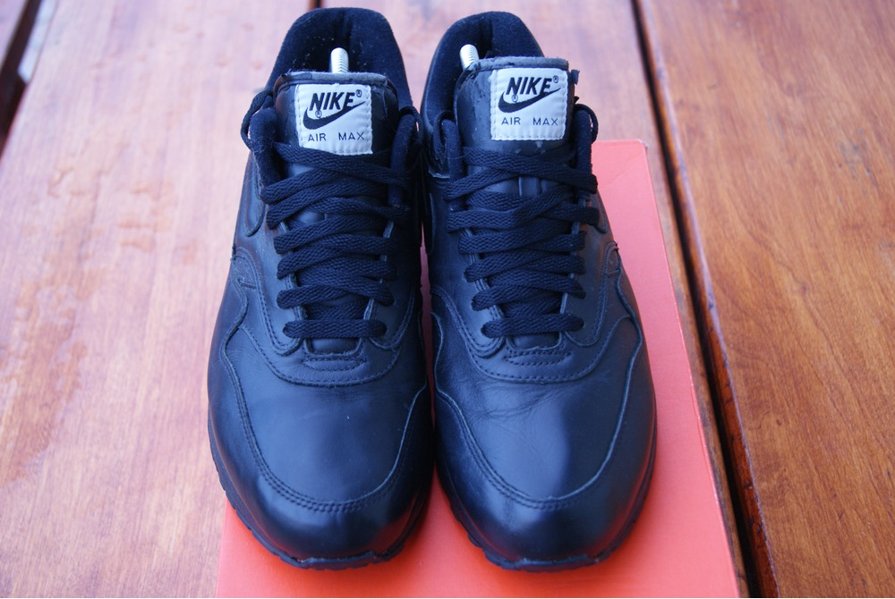 6262c22d1b ... promo code for nike air max 1 sc leather black free shipping photo 4 6  86338