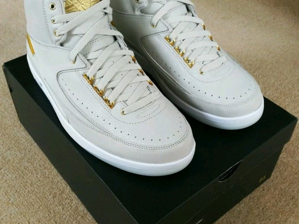 Nike Air Jordan 2 Q54 UK 9 - photo 1/4