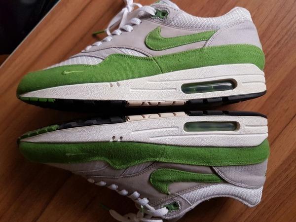 Nike Air max 1 patta chlorophyll Air max 1 - photo 1/6