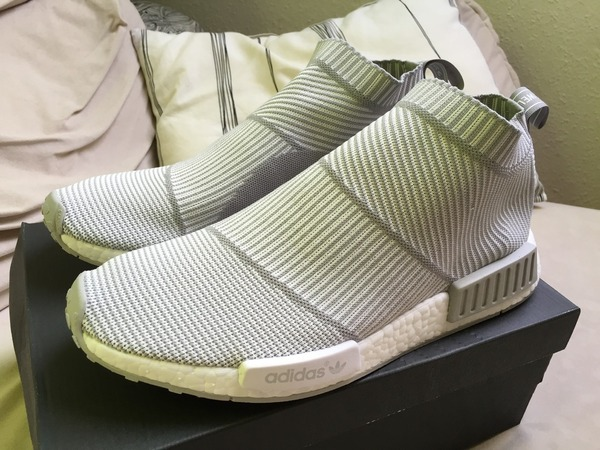 Adidas NMD_CS1 PK CS1 PK WHITE City Sock US 11 (EU 45 1/3) New Yeezy - photo 1/5
