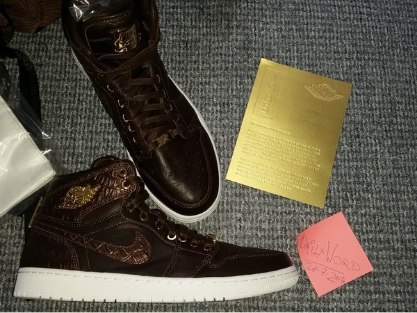 Nike Air Jordan 1 Pinnacle Baroque # Brown Yeezy Patta Air Max Gold Pirate Black Adidas NMD Boost # - photo 1/6