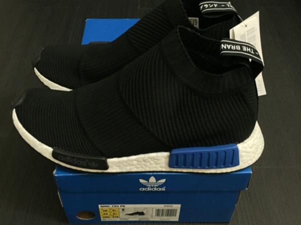 Adidas Boost NMD City Sock Coral Black 10US - photo 1/6