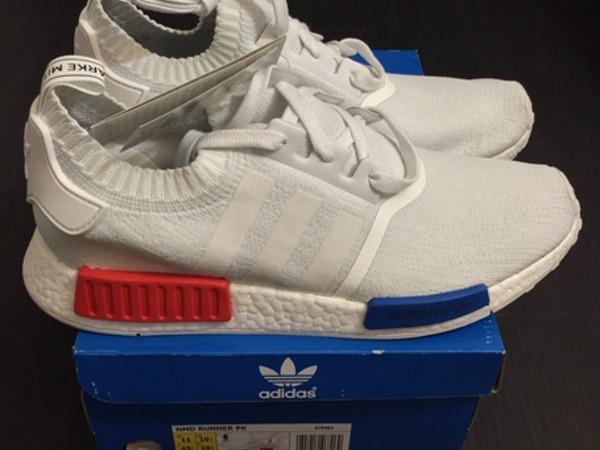 Adidas Boost NMD White OG 11 US - photo 1/7