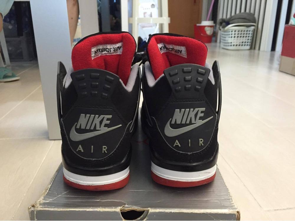 ... Nike Air Jordan 4 bred 1999 - photo 4 4 ... fa36bc93930f