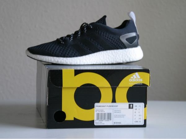 Adidas Consortium Primeknit Pure Boost Black US 6,5 - photo 1/3