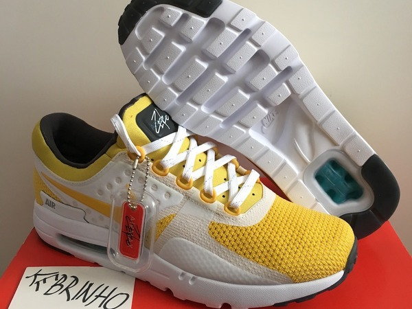 Nike Air Max Zero 0 QS Yellow US9 Tinker Sketch OG DS - photo 1/5