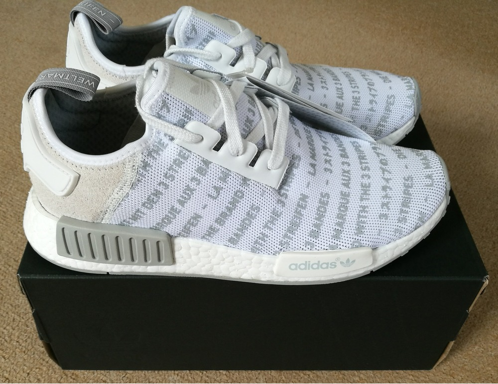 Adidas Nmd R1 Whiteout