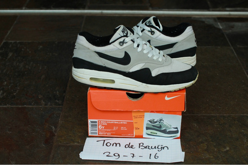official photos 29580 27c8e ... Nike Air Air Max 1 OG Black Mesh 1999 Release - photo 1/3 ...