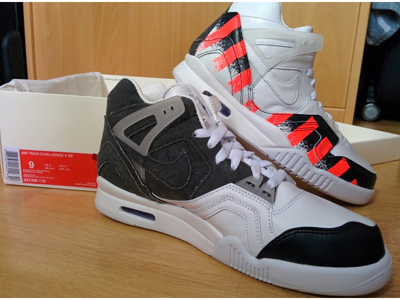 ac3713e4875180 ... Nike Air Tech Challenge II SP French Open 9 US 42.5 EUR - photo 1 ...