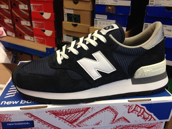 <strong>New</strong> <strong>Balance</strong> <strong>990</strong> N Navy 30th Anniversary DS Deadstock 998 997 - photo 1/1