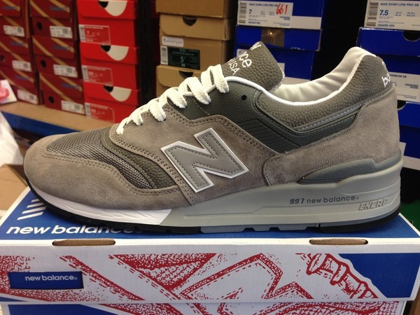 <strong>New</strong> <strong>Balance</strong> 997 GY Grey Re-issue DS Deadstock 998 <strong>990</strong> - photo 1/1