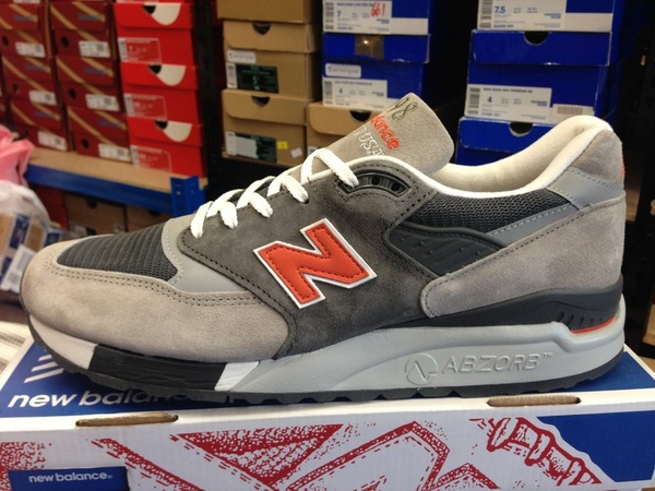 <strong>New</strong> <strong>Balance</strong> 998 GGO Grey Orange DS Deadstock <strong>990</strong> 997 1500 - photo 1/1