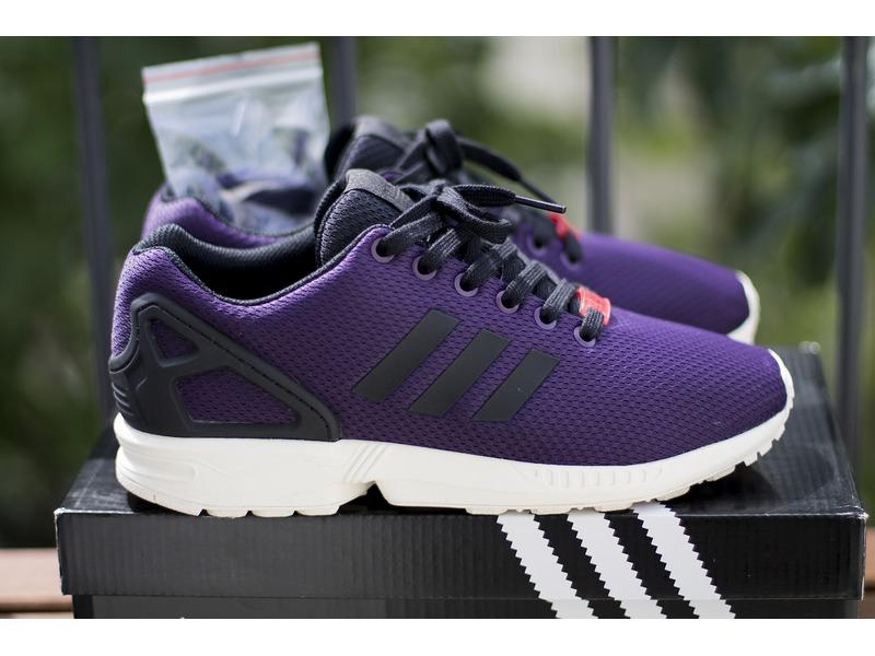 Adidas Zx Flux Prism Purple