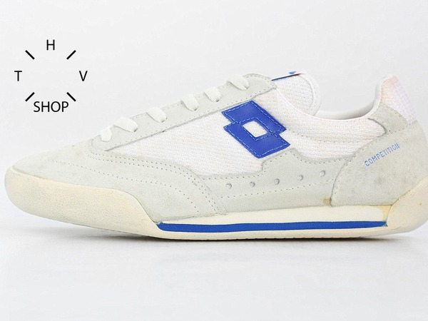 Lotto Indoor Competition vintage sneakers kicks 80s DS deadstock running womens kids NOS New - photo 1/9