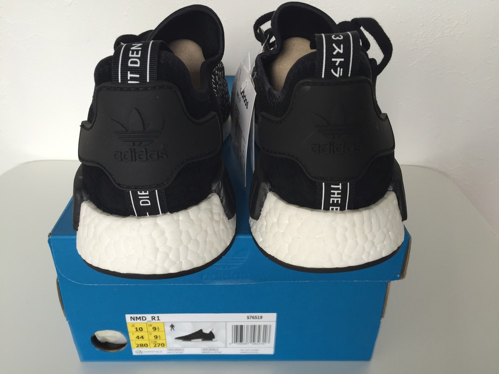 ADIDAS NMD R1 LA MARQUE AUX 3 BANDES (#607571) FROM FAHMOUS INC SNKS AT KLEKT on The Hunt