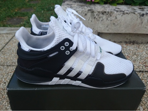 Adidas EQT Support 93/17 Black White Unboxing Video at Exclucity