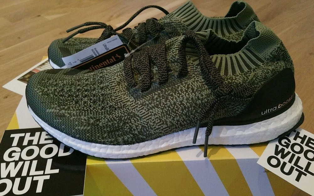 adidas ultra boost uncaged olive green los granados. Black Bedroom Furniture Sets. Home Design Ideas