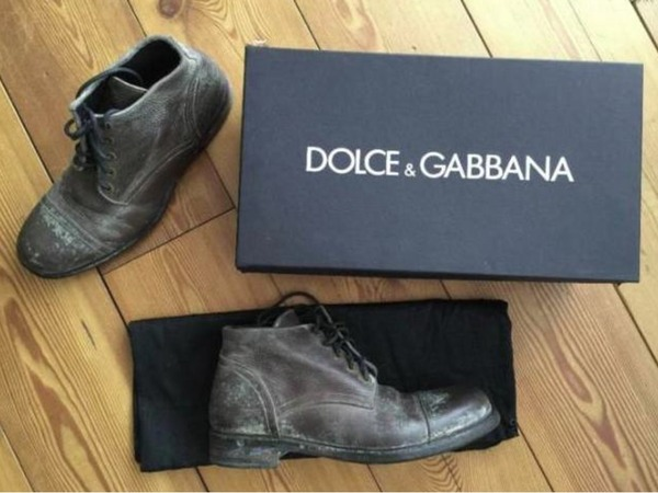 Dolce & Gabbana Stivale Stain White US9 / EUR 43 - photo 1/5